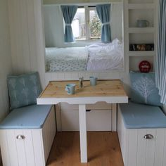 6 quirky huts available to rent on Airbnb right now 6 quirky huts available to rent on Airbnb right now The post 6 quirky huts available to rent on Airbnb right now appeared first on Einrichtung ideen. Small Space Living, Small Spaces, Beach Hut Interior, Playhouse Interior, Playhouse Decor, Summer House Interiors, Summer House Decor, Shepherds Hut, Compact Living