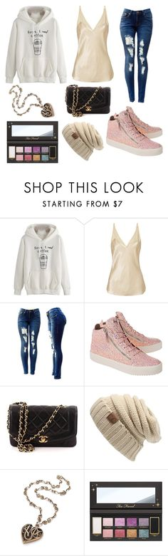 """Sofia"" by holli-geeking ❤ liked on Polyvore featuring By Malene Birger, Giuseppe Zanotti and Chanel"