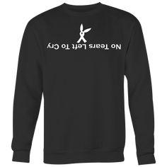 ʎɹɔ oʇ ʇɟǝl sɹɐǝʇ ou Sweatshirt Hoodie Tshirt Merch Unisex T-Shirt Shirt Hoodies, Sweatshirts, T Shirt, Clothing Items, Ariana Grande, Cry, Cute Outfits, Unisex, Long Sleeve