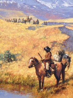 Friend or Foe by C. Michael Dudash | Oil | LegacyGallery.com kp