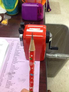 Classroom Friendly Supplies Pencil Sharpener: Review
