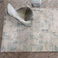 Impasto Celadon Rug   Designers Guild