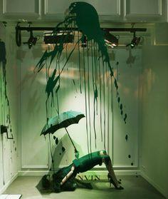 INFURN :: Explosive Lanvin window display