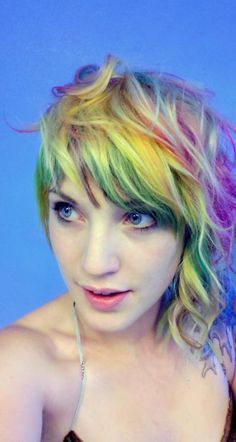 purple and teal hair Pretty Hairstyles, Wig Hairstyles, Hairstyle Ideas, Locks, Teal Hair, Ombre Hair, Blonde Hair, Cool Hair Color, Hair Colors