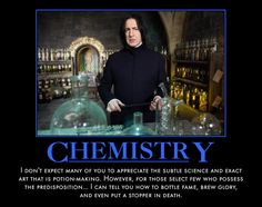 Often feel like Snape!
