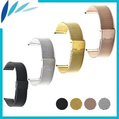 >> Click to Buy << Stainless Steel Watch Band 16mm 18mm 20mm 22mm for Mido Hook Clasp Strap Loop Wrist Belt Bracelet Black Rose Gold Silver + Tool #Affiliate