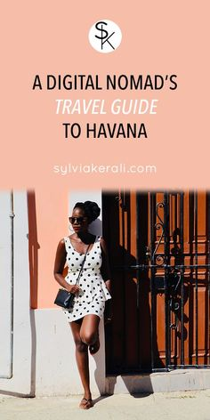 A digital nomad's guide to havana cuba Travel Tips, Travel Hacks, Travel Guides, Travel Destinations, Cuba Travel, Havana Cuba, Blogging For Beginners, Blogging Ideas, Best Places To Travel