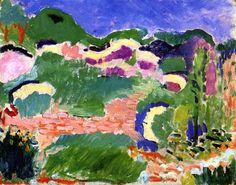Henri Matisse Landscapes   Landscape- Les Genêts / Henri Matisse - 1905