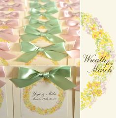 wreath for march by AYANO TACHIHARA Wedding Design