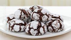 Chocolate Crinkles 'Crack' Cookies Recipe – Easy and Gluten-Free! Chocolate Crack, Chocolate Crinkle Cookies, Chocolate Crinkles, Gluten Free Chocolate, Melting Chocolate, Crack Cookies Recipe, Easy Cookie Recipes, Dessert Recipes, Desserts