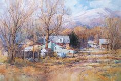 Ian Ramsay Watercolors: Painting is a different experience every day. One's mood is very often the most critical factor in determining what ...