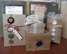 How to Add Style to a Gift with Buttons and Twine