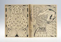 boekbanden voor Couperus. Jan Toorop: band voor Louis Couperus, Psyche (1898)