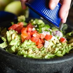 Dip into with this gourmet Guacamole, The Selection, Dips, Veggies, Simple, Ethnic Recipes, Food, Gourmet, Essen