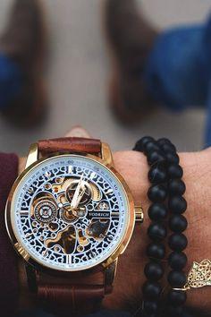 Vivid Essentials |  VODRICH Da Vinci Watch - $69.00 VODRICH Hand Of Fatima Charm Bracelet - $20.00.  Buy yours here.