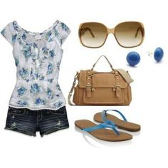 Cute summer outfit! by jean
