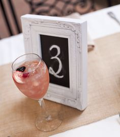 Baby chalkboard table numbers | Santa Barbara Sunset Cruise Wedding | MoHa Photography