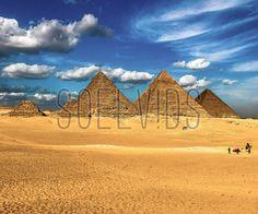 Great Pyramid of Giza, Egypt #GreatPyramidOfGiza #ThreePyramidsInTheGizaPyramidComplex #ElGiza #Egypt