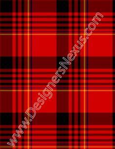006 seamless textile plaid pattern 4 color plaid red