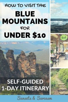 How to visit the Blue Mountains, Australia for under $10.
