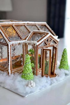 Find images and videos about winter, christmas and gingerbread on We Heart It - the app to get lost in what you love. Gingerbread House Designs, Christmas Gingerbread House, Noel Christmas, Christmas Goodies, Christmas Desserts, Christmas Treats, Christmas Baking, All Things Christmas, Winter Christmas