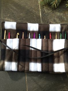 Crochet Hook Case Organizer Holder Holds 12 by CountryCrafting, $11.00
