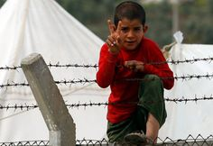 Syrian refugee boy - Turkey