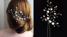 How to Make Hair Vine Pin Comb Bridal Headpiece EASY DIY