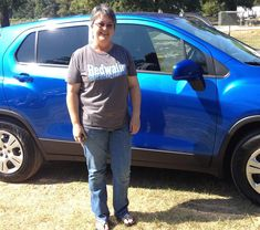 CATHY's new 2015 CHEVROLET TRAX! Congratulations and best wishes from Orr Chevrolet and WESTON FROST.