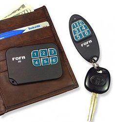 FOFA Find One Find All® Key Finder, find lost keys, Remote Control Locator. Set of 2 Counter Surveillance, Lost Keys, Key Finder, Radar Detector, 2 Way, Technology Gadgets, Car Audio, Inventions, Remote