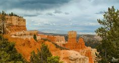 Entering Bryce Canyon National Park is like entering some kind of prehistoric fairyland, what with its rough-and-tumble desert landscape punctuated with the wild rock spires called hoodoos – of which you can get a taste of in this photo by SMK Photo taken at the Aqua Canyon Overlook. Hoodoos are formed by two weathering processes that constantly work together in shaping the forms.  Nowhere else in the world are hoodoos as abundant as they are in Bryce.