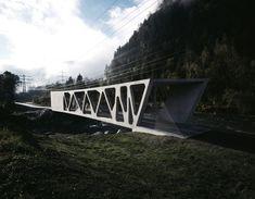 Gallery of Alfenz Bridge / marte.marte Architekten - 9