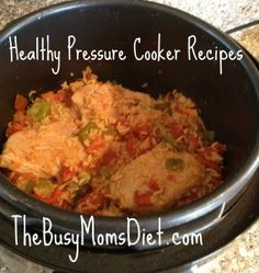 Healthy Pressure Cooker Recipe: Pork Chops and Brown Rice