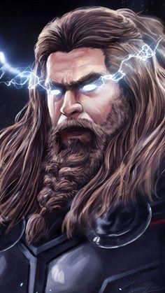 Thor wallpaper from Avengers EndGame Sentry Marvel, Marvel Dc Comics, Marvel Heroes, Marvel Characters, Marvel Avengers, Chris Hemsworth, Marvel Universe, Marvel Tattoos, Marvel Drawings