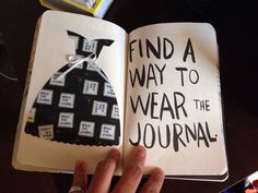 Wreck this journal page    Wreck this journal couture...