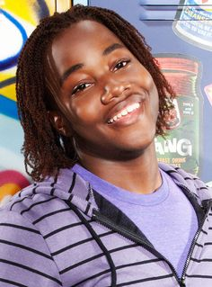 This wonderful dude is Leon Thomas III. He plays Andre on Victorious, and is one of the FUNNIEST actors. I very much love him. =]