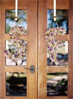monogram wedding florals designed by Lindy Floral
