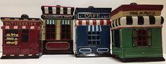 Certified International Jenaifer Garant Multi Color Set 4 Ceramic Canisters Jars | eBay