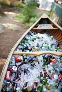 boat with beer = good