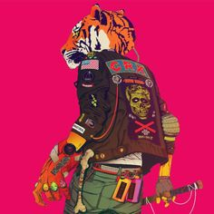 The Strokes guitarist Nick Valensi debuted his new band CRX in a series of live shows last month, and their Josh Homme-produced debut album New Skin is on its Character Concept, Character Art, Concept Art, Character Design, The Strokes, Gato Animal, Josh Homme, Arte Cyberpunk, New Skin