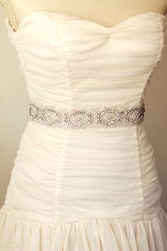 Nala wedding bridal belt sash wedding sash by AmieNoelDesigns, $74.00
