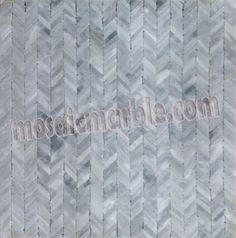 Mosaic Marble tile- hand cut #mosaicmarble.com