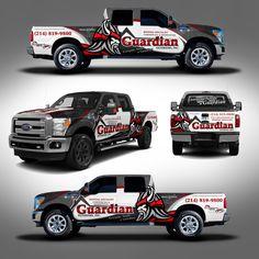 Truck Design Wrap