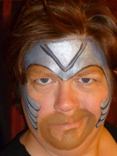 thor face paint - Google Search
