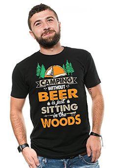 David et Goliath T-shirt homme-Bière