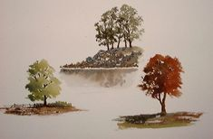 WetCanvas: ArtSchool Online: Watercolors: Watercolor Painting, My Way!: Trees