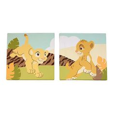 Details About LION KING Simba Smashed Wall Decal Graphic Wall - Lion king nursery wall decals