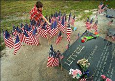 Shanksville, PA site of United Flight 93 crash on 9/11