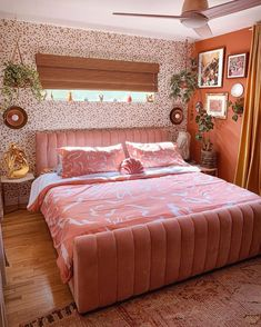 Here's What Our 2020 Pattern of the Year Looks Like in 4 Real-Life Rooms Room Ideas Bedroom, Home Bedroom, Bedroom Decor, Bedrooms, Aesthetic Room Decor, Dream Rooms, My New Room, House Rooms, Room Inspiration