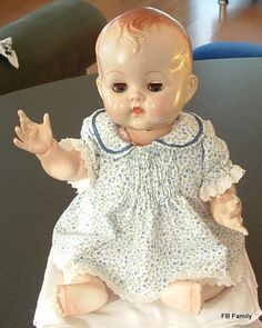 A pedigree doll belonging to a blogger Kathryn in NZ